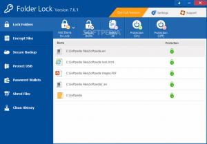 Folder Lock 7.8.1 Crack