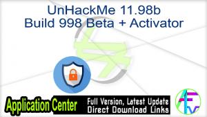 UnHackMe Pro Crack & License Key v11.98b Build 998
