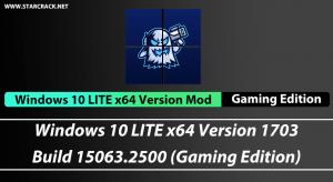 Windows 10 SuperLite x64 Version Mod [Gaming Edition]