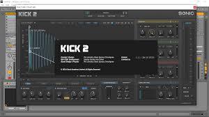Sonic Academy Kick 2 Mac Crack 1.1.4 With Latest Version 2021