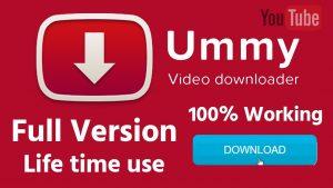 Ummy Video Downloader 1.11.8.1 Crack With License Key 2022